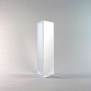 4 inch crystal prism standing
