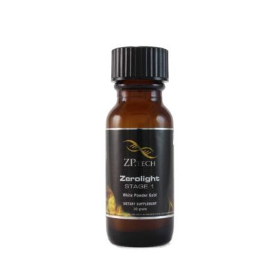 Zerolight White Powder Gold 10g.
