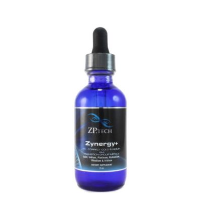 Zynergy plus 2oz. Monatomic Gold and ormes mstates