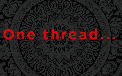 One thread….