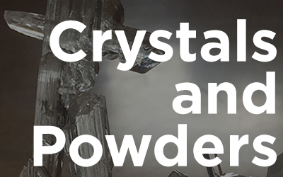 Crystals and Powders