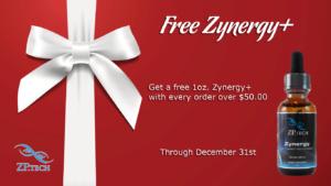 Free Zynergy+ Christmas Promo
