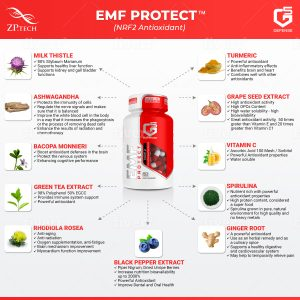 5G Defense EMF Protect Infographic
